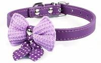 Futaba Embellished Dog Collar Charm(Purple, Butterfly)