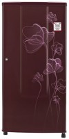 LG 185 L Direct Cool Single Door 1 Star Refrigerator(Scarlet Heart, GL-B181RSHU)