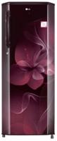 LG 270 L Direct Cool Single Door 4 Star Refrigerator(Scarlet Dazzle, GL-B281BSDX)