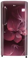 LG 215 L Direct Cool Single Door Refrigerator(Scarlet Dazzle, GL-B221ASDX)   Refrigerator  (LG)