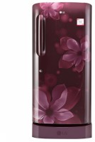 LG 215 L Direct Cool Single Door Refrigerator(Scarlet Orchid, GL-D221ASOW) (LG)  Buy Online