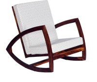 View Home Edge Mekhi Solid Wood 1 Seater Rocking Chairs(Finish Color - Teak) Furniture (Home Edge)