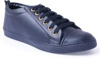 Shoe Fellow Mens Black Casual Shoes Sneakers(Black)