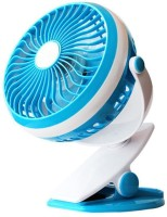 View Callmate Portable Rechargeable Battery USB Fan(Blue) Laptop Accessories Price Online(Callmate)