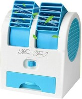 View Blue Birds MINI cooler MLC-120 USB Fan (Blue) MLC001 multicolor USB Fan(Blue) Laptop Accessories Price Online(Blue Birds)