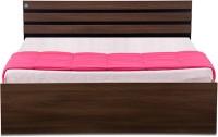 View Delite Kom Cocoa Engineered Wood Queen Bed With Storage(Finish Color -  Black & Acacia Dark Matt Finish) Furniture (Delite Kom)