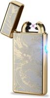 View Arc Lighter Plasma Lighter Dual Arc Electric USB - GD Cigarette Lighter(Gold) Laptop Accessories Price Online(Arc Lighter)