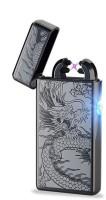 View Arc Lighter Plasma Lighter Dual Arc Electric USB - BD Cigarette Lighter(Black) Laptop Accessories Price Online(Arc Lighter)