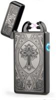 View Arc Lighter Plasma Lighter Dual Arc Electric USB Cigarette Lighter(Black) Laptop Accessories Price Online(Arc Lighter)