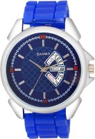 SAMEX BLUE SILICON STRAP LATEST BRANDED BLUE SPORTS BIG BILLION DAY SALEWATCH Watch  - For Men