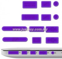 View Pashay USB Purple Anti-dust Plug(Laptop Pack of 12) Laptop Accessories Price Online(PASHAY)