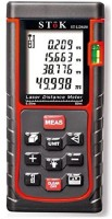 Stok ST-LDM50 SToK ST-LDM50 Laser Distance Measuring Meter Portable Device,Area/Pythagoras Calculation,Measurement Memory Recall,Tape 0.05 To 50M(0.16 To 164Ft)St-Ldm50 Non-magnetic Engineer's Precision Level(11.2 cm)