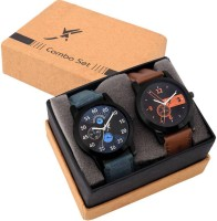 Fancy Set Of Two Combo Couple Watch Valentines Day Special Analog Watch  - For Boys & Girls