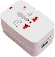 View SHOPCRAZE Universal Pocket Travel Charger Multi-Plug, AU/EU/UK/US/CN Worldwide Adaptor (White) MBJG5625 Worldwide Adaptor(White) Laptop Accessories Price Online(SHOPCRAZE)