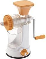 #° DEGREES GANESH HAND JUICER Polypropylene Hand Juicer(Orange Pack of 1)