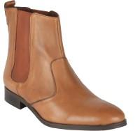 Salt N Pepper 11-590 Juliet Cognac Boots Boots For Women(Tan)