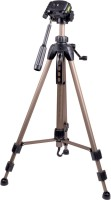 Troter Pro Tripod for SLRs, DSLRs, Binoculars, Telescopes & medium video camera Tripod Kit(Brozne, Supports Up to 3500 g)