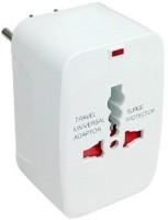 View SCORIA Universal Worldwide Adaptor(White) Laptop Accessories Price Online(SCORIA)
