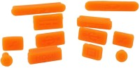 View Pashay USB Orange Anti-dust Plug(Laptop Pack of 12) Laptop Accessories Price Online(PASHAY)