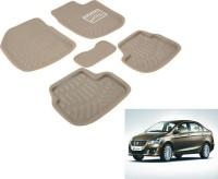 A K online Services Plastic Standard Mat For Maruti Suzuki Ciaz(Beige)