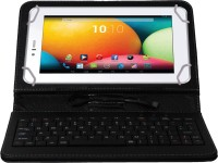 Jkobi Keyboard Case for Videocon VT87C Plus(Black, Dual Protection, Leather)