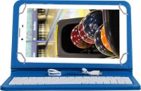 Jkobi KEYBOARDBLUET173 Wired USB Tablet Keyboard(Blue)