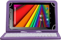 Jkobi KEYBOARDPURPLET129 Wired USB Tablet Keyboard(Purple)