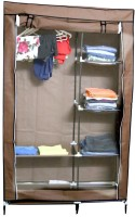 View GTB Wrought Iron Collapsible Wardrobe(Finish Color - Brown) Furniture (GTB)