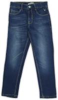 Allen Solly Junior Regular Boys Blue Jeans