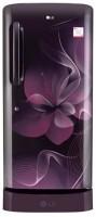LG 215 L Direct Cool Single Door 4 Star Refrigerator(Purple Dazzle, GL-D221APDX)