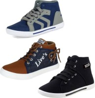 Super Matteress COMBO(S)-114+303+678 Sneakers For Men(Multicolor)