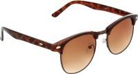 Zyaden Round Sunglasses(Brown)