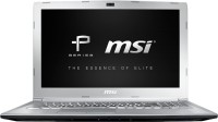 View MSI P Series Core i7 7th Gen - (8 GB/1 TB HDD/128 GB SSD/DOS/4 GB Graphics) PE62 7RE-2024XIN Gaming Laptop(15.6 inch, SIlver, 2.2 kg) Laptop