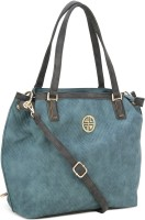 Carlton London Shoulder Bag(Blue, Grey)