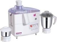 Worldstar Brio-mark 1 450 Juicer Mixer Grinder(White, 2 Jars)
