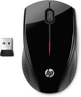HP X3000 Wireless Optical Mouse(USB, Black)