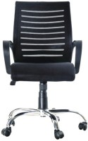 View Advanto AVPN CR 055 Fabric Office Arm Chair(Black) Furniture