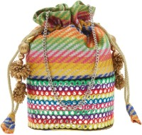 Tarusa Stylish Potli Potli(Multicolor)
