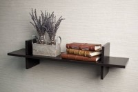 View Masterwood h wall rank MDF Wall Shelf(Number of Shelves - 1, Brown) Furniture (Masterwood)