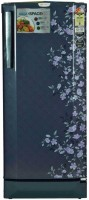Godrej 210 L Direct Cool Single Door Refrigerator(Indigo Floret, RD EDGEPRO 210 CT 3.2)