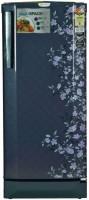 Godrej 210 L Direct Cool Single Door 3 Star Refrigerator with Base Drawer(Indigo Floret, RD EDGEPRO 210 CT 3.2)