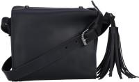 Old Tree Women Black PU Sling Bag