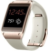 Samsung galaxy gear white, rose gold Smartwatch(White Strap 41.4mm)