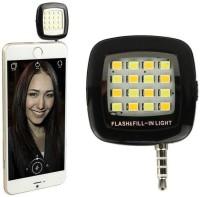 View K&B MOBILE ULTIMATE SOLUTION Selfie flash Light Portable 16 Led Light(Black) Laptop Accessories Price Online(K&B MOBILE ULTIMATE SOLUTION)