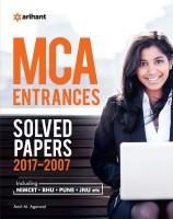 MCA Entrances Solved Papers (2007 - 2017) : Including NIMCET, BHU, PUNE, JNU(English, Paperback, Amit M. Agarwal)