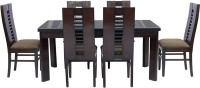 View shop klass Solid Wood 6 Seater Dining Set(Finish Color - brown) Furniture (shop klass)