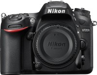 View Nikon D-SERIES NIKON D7200 BODY DSLR Camera BODY ONLY(Black) Camera Price Online(Nikon)