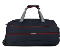 VIP 22 inch/55 cm Norway Dft 57 Blue Duffel Strolley Bag(Blue)