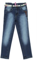 612 League Regular Girls Blue Jeans