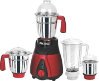 KUMAKA Perfect Kitchenz 1 HP Heavy Duty High Quality With 4 Jars & Blades Metallic ABS Body with 3 Years Warranty 750 Mixer Grinder(Black, Red, 4 Jars)